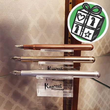 Gifts Ideas, gift tips, Basel, Gifts Basel, Souvenirs, Gifts, present, presents, Shopping, fountain pen, Kaweco, writing utensils, Germany