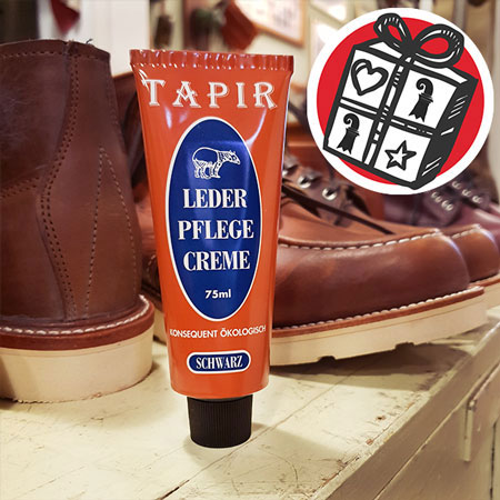 Gifts Ideas, gift tips, Basel, Gifts Basel, Souvenirs, Gifts, present, presents, Shopping, shoe care, leather conditioner, conditioner, leather care, leather, care, cream, Tapir, Germany, handmade