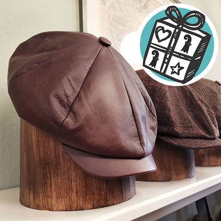 Gifts Ideas, gift tips, Basel, Gifts Basel, Souvenirs, Gifts, present, presents, Shopping, leather cap, leather, Germany, handmade