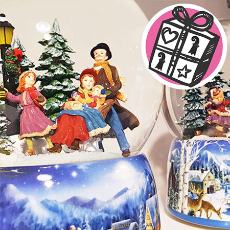 Gifts Ideas, Basel, gift tips, Gifts Basel, Souvenirs, Gifts, present, presents, Wunder-Laden, snow globe, Christmas