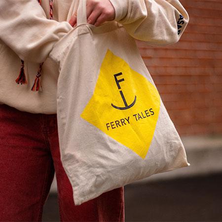 Shopping Basel, Beste Shops Basel, Tote Bag, Jutebeutel, Tasche Coffeeshop, Kaffee, Souvenirs, Fähri-Lade, Ferry Tales