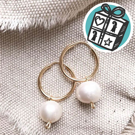 Gifts Ideas, gift tips, Basel, Gifts Basel, general store, concept store, earring, golden, pearl, aisso