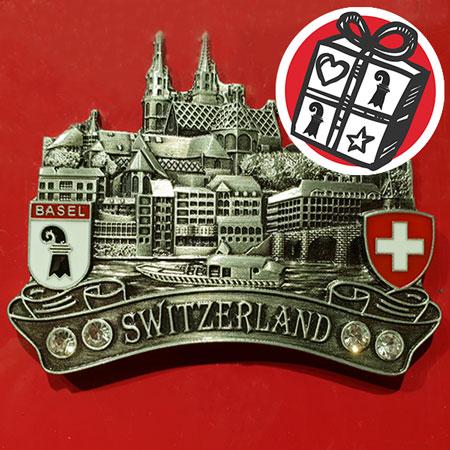 Geschenke Ideen, Geschenke Tipps, Basel, Geschenke Basel, Münster, Basler Münster, Magnet, Souvenir, Johann Wanner