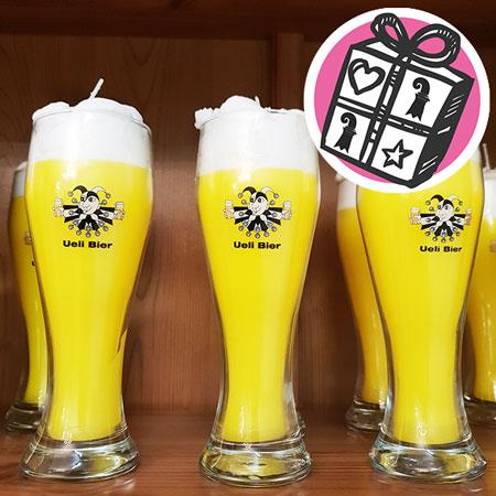 Geschenke Ideen, Geschenke Tipps, Basel, Geschenke Basel, Kerze, Kerzen, Bier Kerze, Uelie Bier, Bier, handgemacht, Swiss Candles
