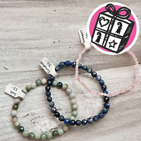 Gift Ideas, Gift tips, Gifts Basel, Basel, Stone bracelets, bracelets, Edelstai Lädeli